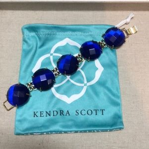 Kendra Scott Cassie bracelet- Cobalt